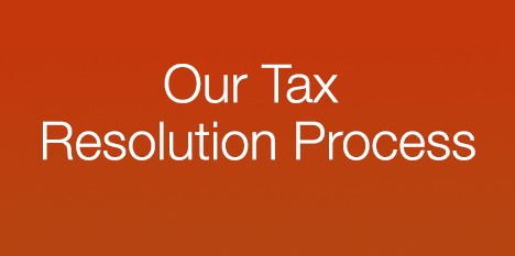 Our Tax Resolution Process
