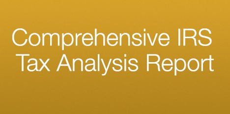 Comprehensive IRS Tax Analysis Report